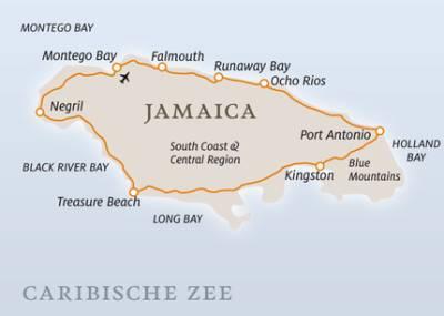 Ligging jamaica