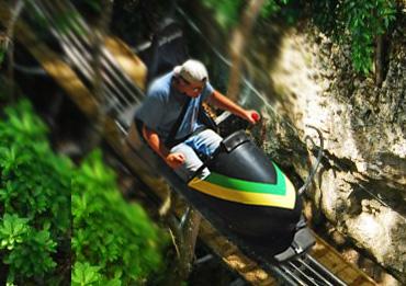 Bobsled ride ocho rios